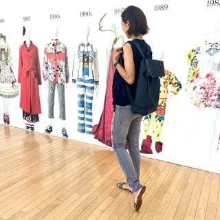 涼感ブラックコーデで、行きたかったファッション イン ジャパン展覧会へ