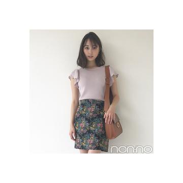 鈴木友菜が着る、秋来る!ゴブランスカート【毎日コーデ】