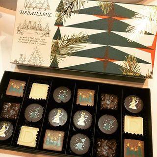 「ドゥバイヨル」のクリスマス&バレンタイン限定チョコレート