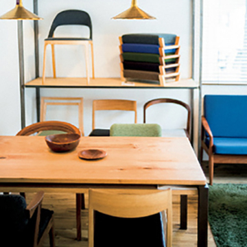 洗練された家具とインテリア 盛岡「Holz」