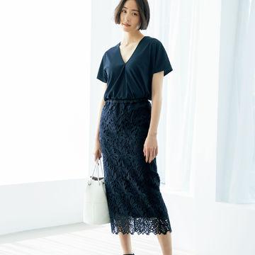 見た目は美しく、着心地は涼やか!スタイリスト森慶子さんが提案する「L'UNE」の夏アイテム