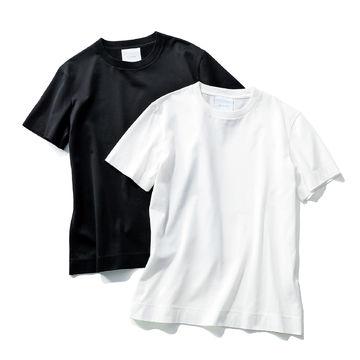 大人の女性を美しく見せる「SLOANE」コットンTシャツ