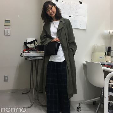 鈴木友菜はチェルシーのコートで秋色ゆるコーデ♡【モデルの私服】