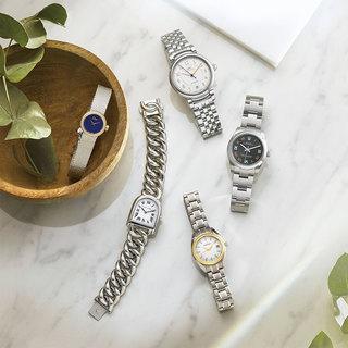 新しい年を新しい時計で始めたい人に。シックでタイムレスな「ブレスレットタイプ」