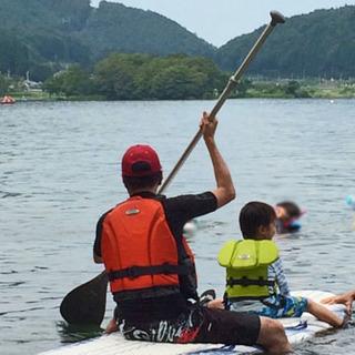 長野県・木崎湖でSAPに挑戦!