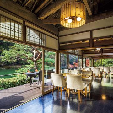 2.秋の嵐山ならではの味覚を『翠嵐 ラグジュアリーコレクション ホテル 京都』