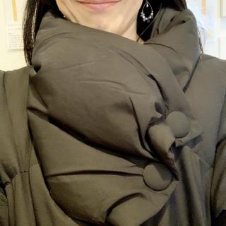 寒い日のお出かけは、コクーンコートで暖かく!_1_2