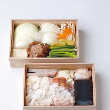 ホテルアナガ『日本料理 鮨 阿那賀』の「鱧鍋セット」