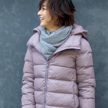 Jマダムの定番ブランド「ヘルノ」で冬支度