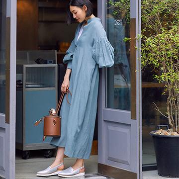 ペダラの新作靴『LA CHIC』で街歩き