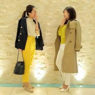 今年の春夏は黄色パンツに挑戦。_1_3