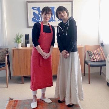 エクラでもおなじみ 島田まきさんのお料理教室へ