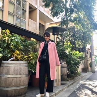 大人にちょうどいいピンクコート