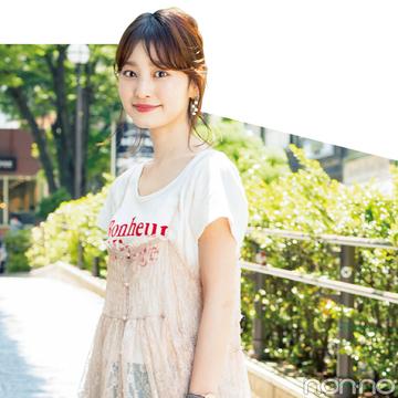 リアルなお手本★non-no専属読モ「カワイイ選抜」のTシャツコーデスナップ!
