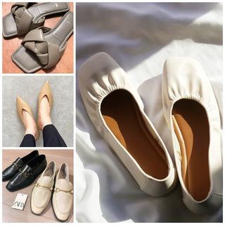 ZARA、H&M、GUの高見えプチプラ春シューズはヘビロテ確定!美女組の春靴まとめ|美女組Pick up!