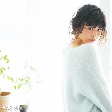 Web限定カットも公開♡ 馬場ふみかの#彼女感ニット