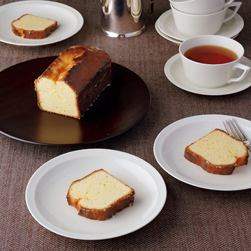 旬のレモンで作るさわやかなケーキ「ウイークエンド」で優雅なティータイムを!