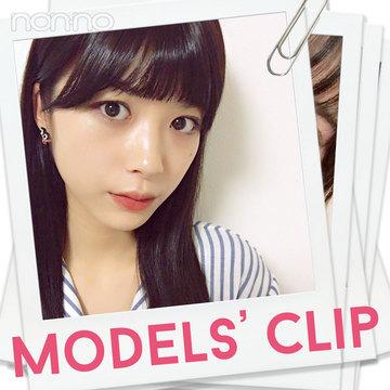 ノンノモデル馬場ふみかのお守りアクセは○○○【Models' Clip】