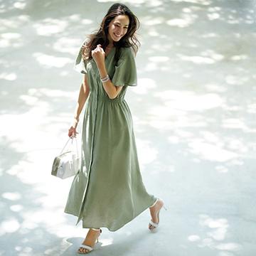 エクラ世代のデザイナーが作る、真夏のJマダムを素敵に見せる服