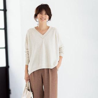 オンオフ着られるM7daysのキレイめ服【トップス編】