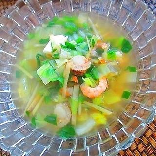 旨み滋養凝縮!免疫力アップの生姜たっぷりスープレシピ