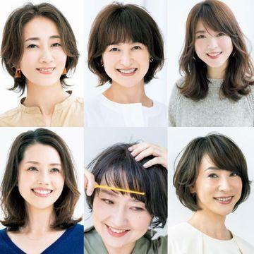 ボブヘアの「ミニ・ヘアチェン」が人気!【50代髪型人気ランキングTOP10】