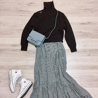 UNIQLOカシミヤセーター着まわし【momoko_fashion】