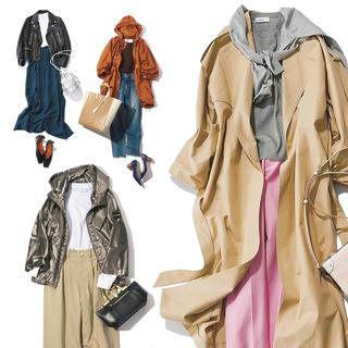 アラフォーを輝かせる4大春アウターのコーディネート実例集|40代レディースファッション