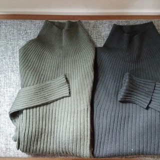 この冬はUNIQLO U モックネックセーターで暖かく快適に過ごす♪