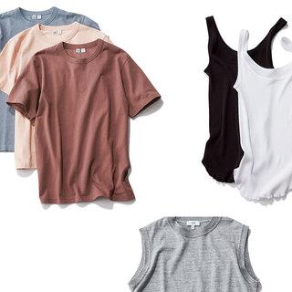 夏には必須!女っぽタンクトップ&まとめ買いTシャツ【おしゃれプロの「これ買っちゃいました!」】