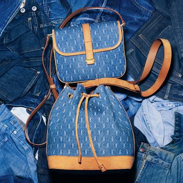 サンローランの人気モノグラムシリーズのバッグにデニムコレクションが登場♡【Fashion Scoop!】