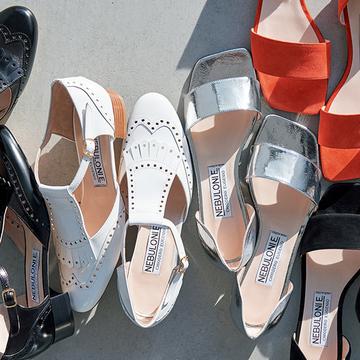 注目度NO.1ブランド『NEBULONI E.』の春靴で軽やかスタイル