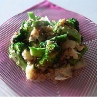 キレイになれる!かれいとブロッコリーのマヨ炒めレシピ