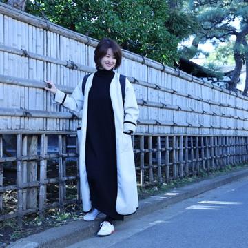 小春日和の鎌倉散策は大人の褒められスニーカーコーデ