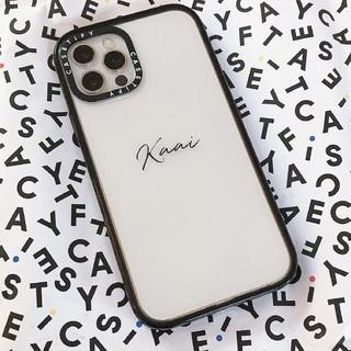iPhone12デビューしました♡ケースは自分だけのオリジナルが魅力の【CASETiFY】で。
