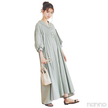 西野七瀬はぷかっと着て可愛さ極まるシャツドレスで♡【毎日コーデ】