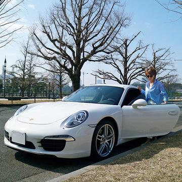 ずっと乗り続けたいポルシェ。夢は娘の運転でドライブ!【おしゃれなあの人の愛車】