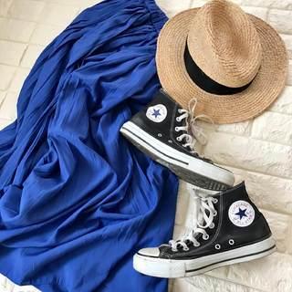 コンバースが2倍かわいく履ける!スニーカー映えするきれい色【高見えプチプラファッション #22】