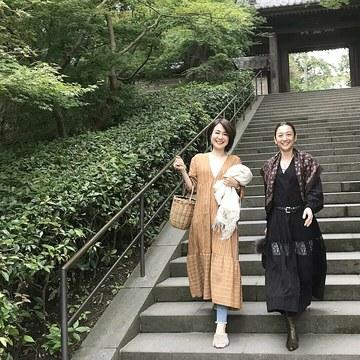黒ワントーンで鎌倉散歩♪