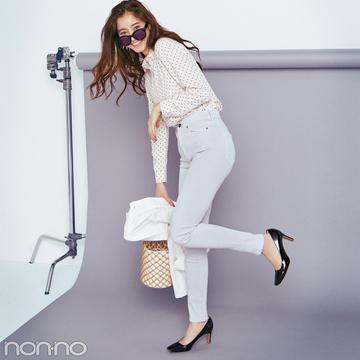 90年代に一世を風靡した美脚パンツのシマロンがデニムで復活!