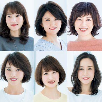 前髪のデザイン&スタイリングで印象を変える!【50代髪型人気ランキングTOP10】
