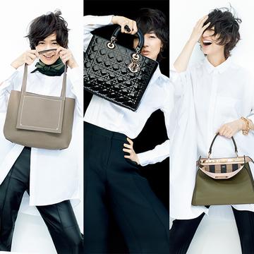 自分らしくおしゃれを楽しむ!ハイブランドの「ハンドバッグ」3選【 富岡佳子の愛すべき名品バッグ】