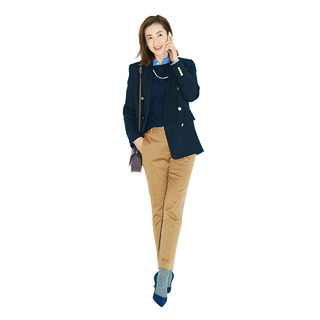 寒い⇔暖いのこの時季は、4本の「頼れるパンツ」で着まわし!