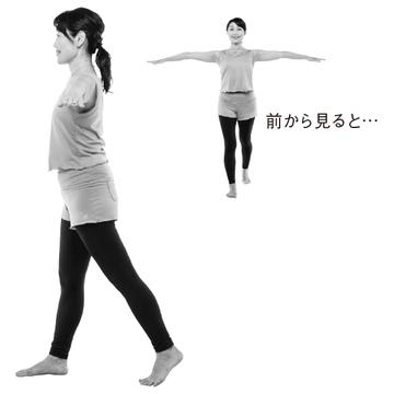 """バランス力&筋力アップ""""片足T字立ち"""""""