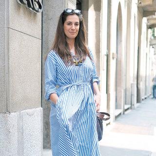 ワンピースはゆったり着る【ファッションSNAP ミラノ・パリ編】