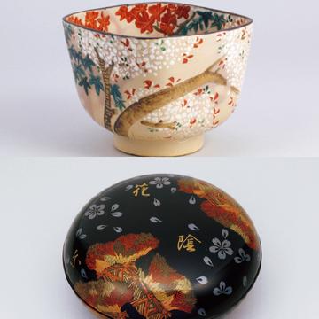 意外にも大胆な意匠。桜モチーフの「茶道具」【「京都」桜にまつわる10の愉しみ】