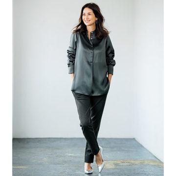 スタイリスト森慶子さん別注! いつでも素敵に見える、エクラ世代のための服