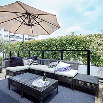 大好きなリネンと植物に囲まれた暮らし 菊川博子さんの人生最高に「好き」な家