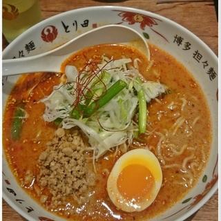 水炊きのスープで作る至極の担々麺