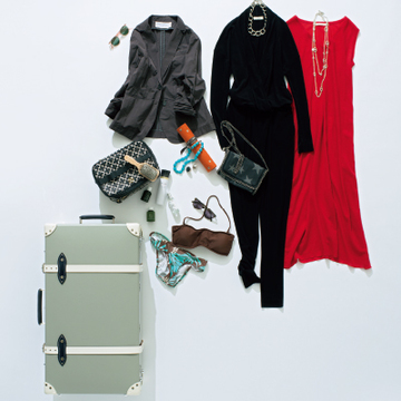 シーンごとの装いを楽しむ、女友だちと2泊3日の香港満喫旅【スーツケースの中身】